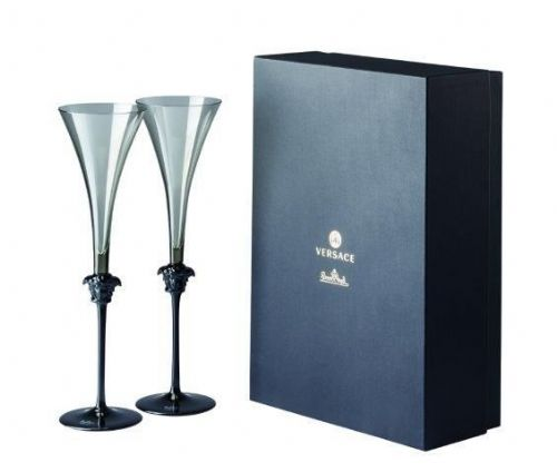 Versace Medusa Lumiere Haze Champ flute 2Pc Set